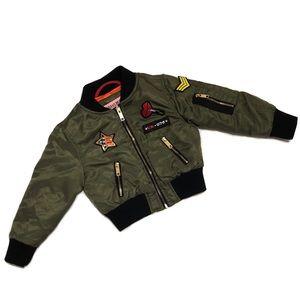 Urban Republic Bomber Jacket Girl Size 2T